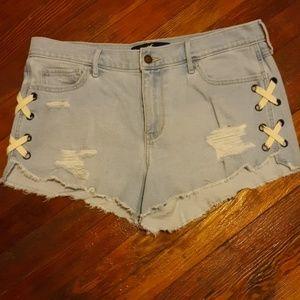 HIGH-RISE VINTAGE STRETCH Hollister shorts